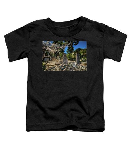 47 Samurai And Cherry Blossoms Toddler T-Shirt