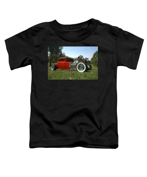 1930 Ford Coupe Hot Rod Toddler T-Shirt