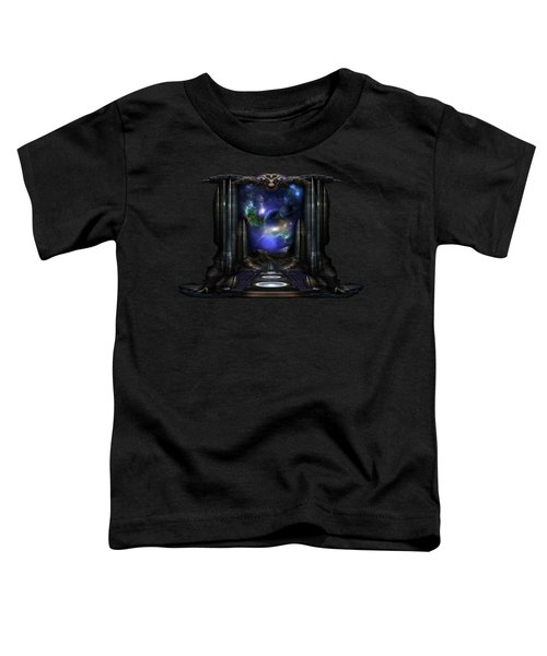 89-123-a9p2 Arsairian 7 Reporting Fractal Composition Toddler T-Shirt