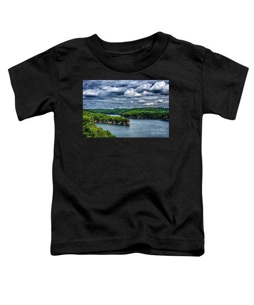 Long Point Summersville Lake Toddler T-Shirt
