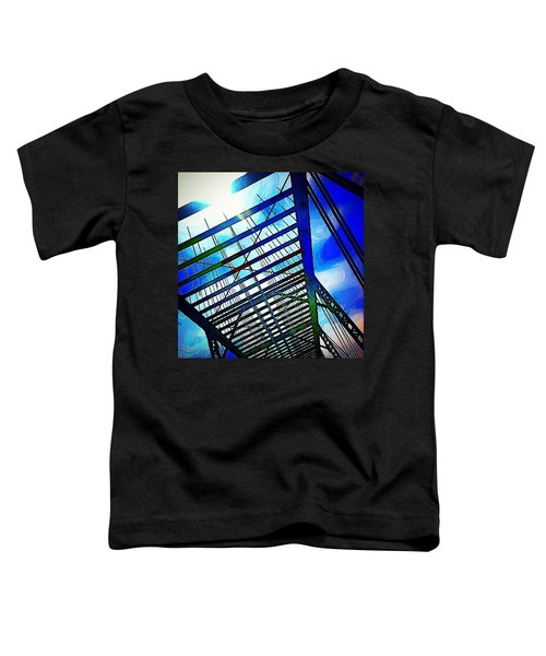A Bridge In Denver. #denver #colorado Toddler T-Shirt