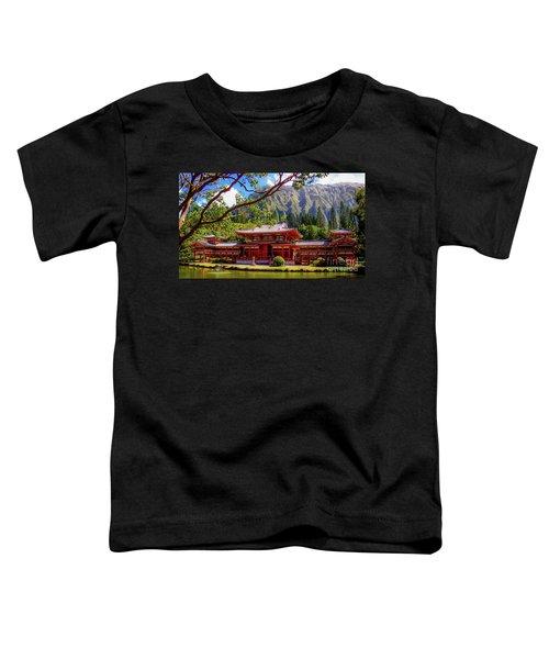 Buddhist Temple - Oahu, Hawaii - Toddler T-Shirt