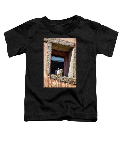 A Cat On Hot Bricks Toddler T-Shirt