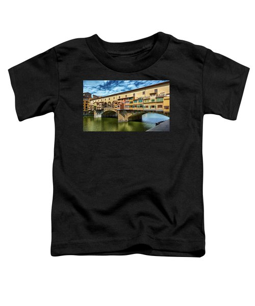 A Closer Look To Ponte Vecchio Toddler T-Shirt