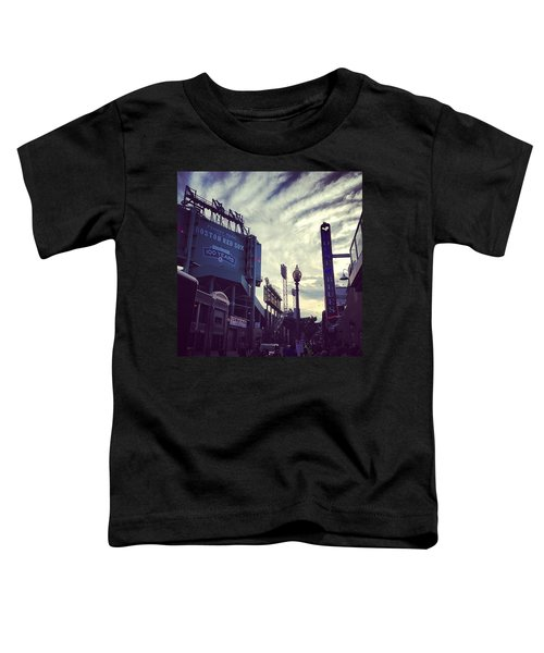 A Fine Night Is Upon Us #beantown Toddler T-Shirt