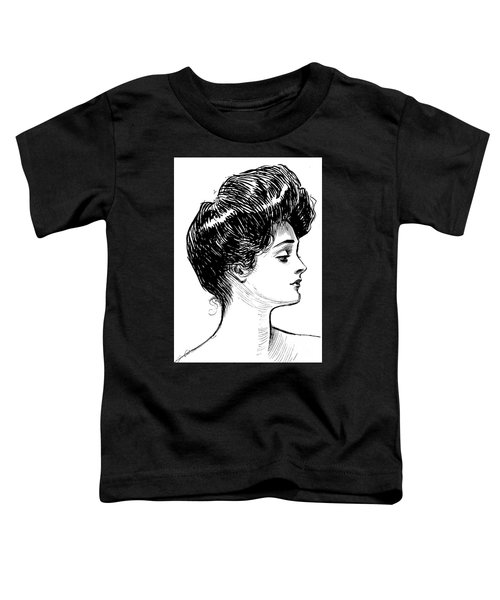 A Gibson Girl, 1902 Litho Toddler T-Shirt
