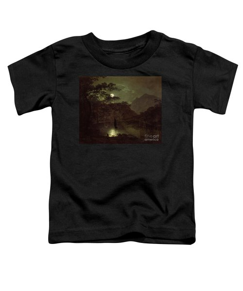 A Lake By Moonlight Toddler T-Shirt