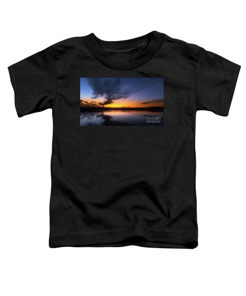 A Misty Sunset On Lake Lanier Toddler T-Shirt