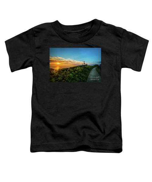 A Montauk Lighthouse Sunrise Toddler T-Shirt