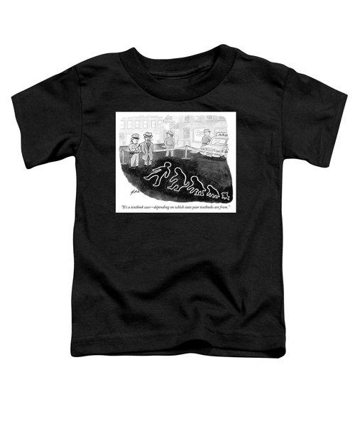 A Textbook Case Toddler T-Shirt