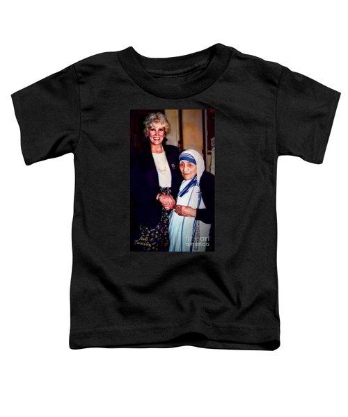 A Vist With Mother Teresa Toddler T-Shirt