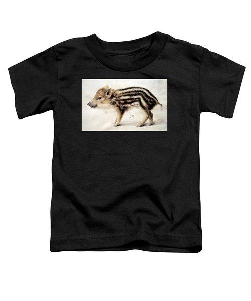 A Wild Boar Piglet Toddler T-Shirt