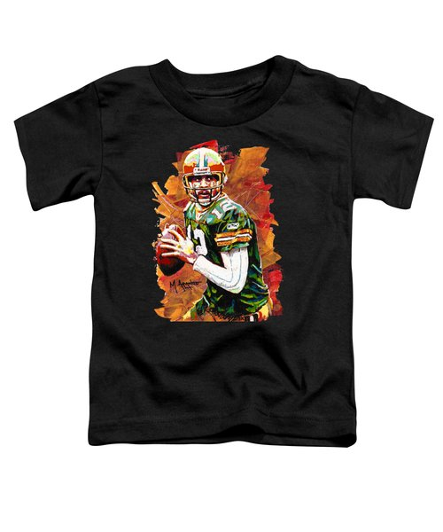 Aaron Rodgers Toddler T-Shirt