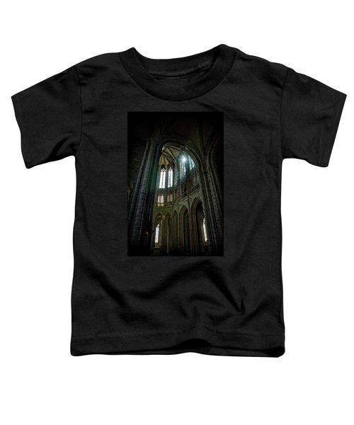 Abbey With Heavenly Light Toddler T-Shirt