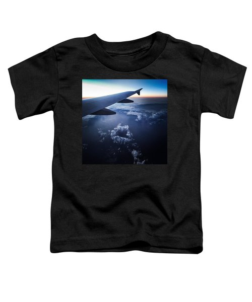 Above The Clouds 02 Heart Cloud Toddler T-Shirt