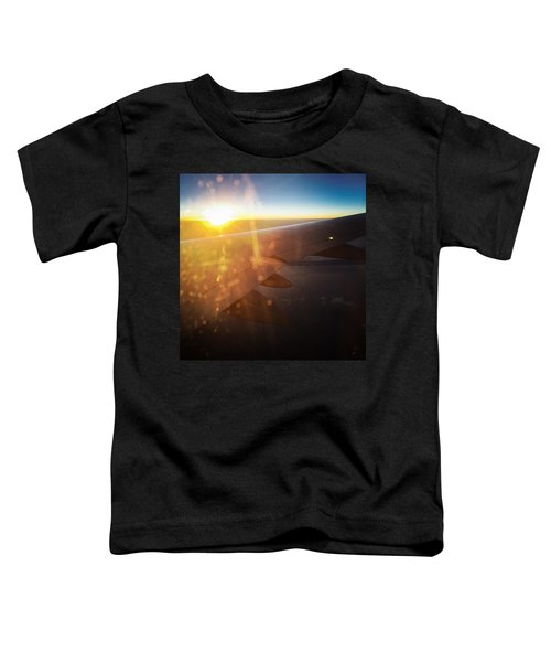 Above The Clouds 03 Warm Sunlight Toddler T-Shirt