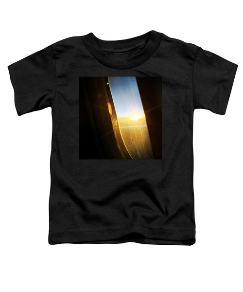Above The Clouds 05 - Sun In The Window Toddler T-Shirt