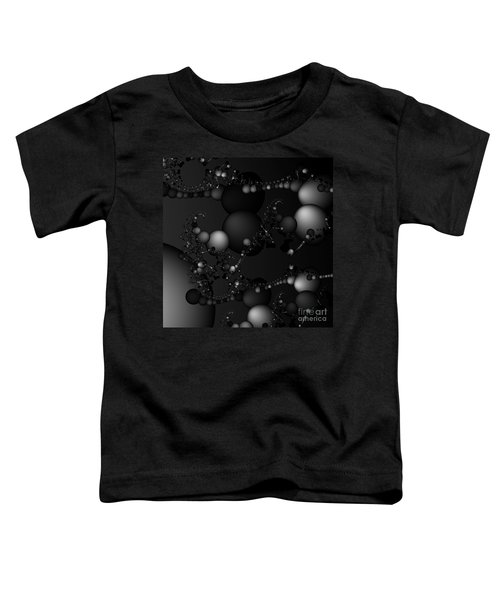 Abstract 119 Bw Toddler T-Shirt