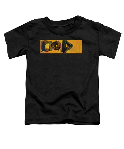 Abstract 2071-diptych Toddler T-Shirt