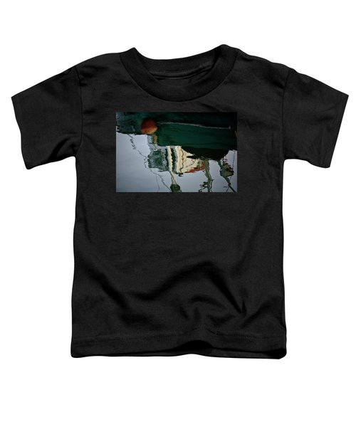 Abstract Boat Reflection II Toddler T-Shirt