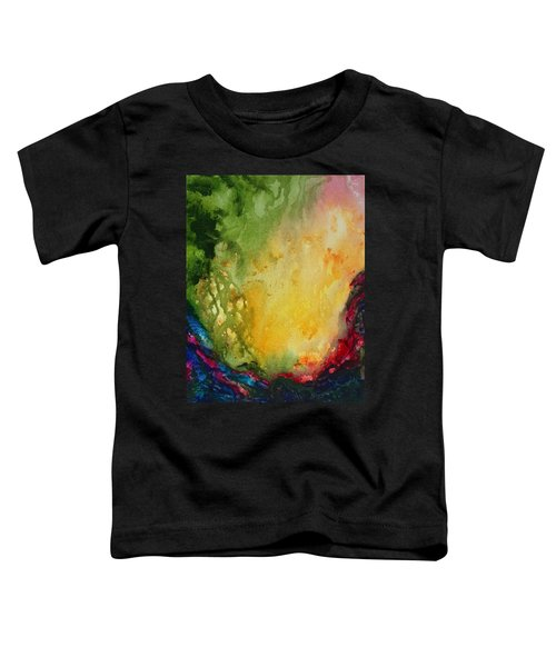 Abstract Color Splash Toddler T-Shirt
