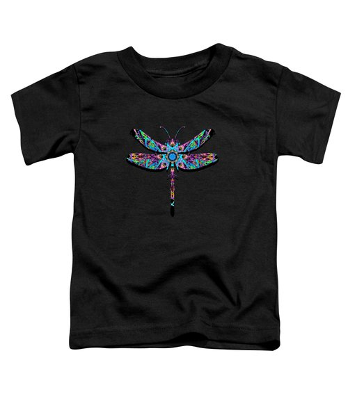 Abstract Dragonfly Toddler T-Shirt