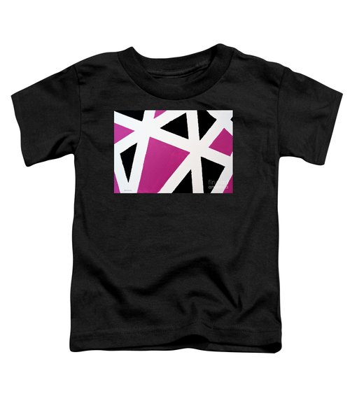 Abstract M1015l Toddler T-Shirt