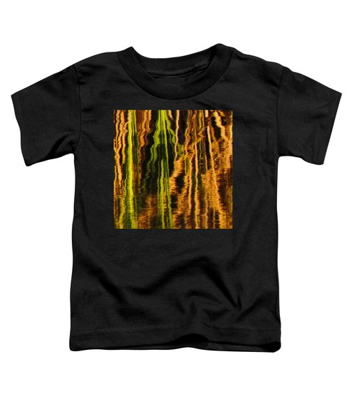 Abstract Reeds Triptych Middle Toddler T-Shirt