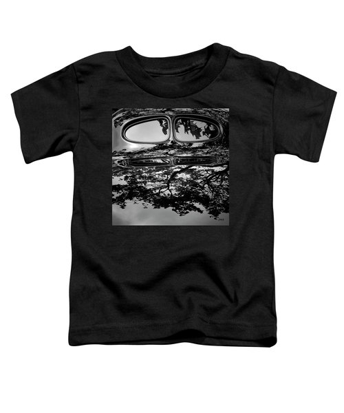 Abstract Reflection Bw Sq II - Vehicle Toddler T-Shirt