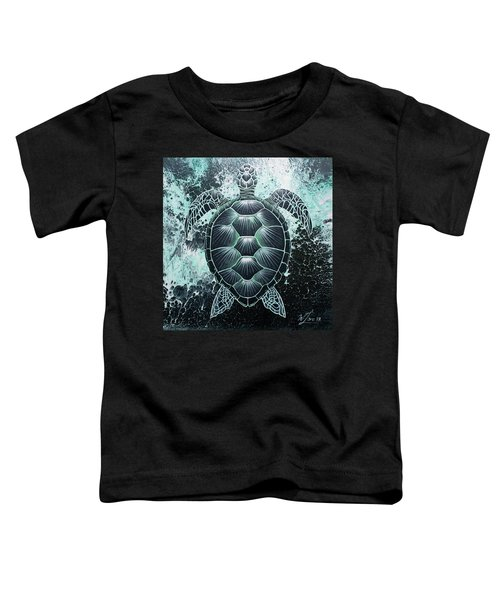 Abstract Sea Turtle Toddler T-Shirt