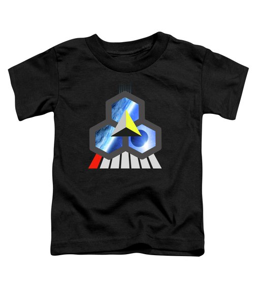 Abstract Space 1 Toddler T-Shirt by Russell K