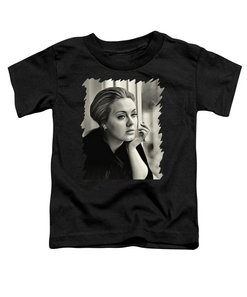 Adele Toddler T-Shirt by Twinkle Mehta