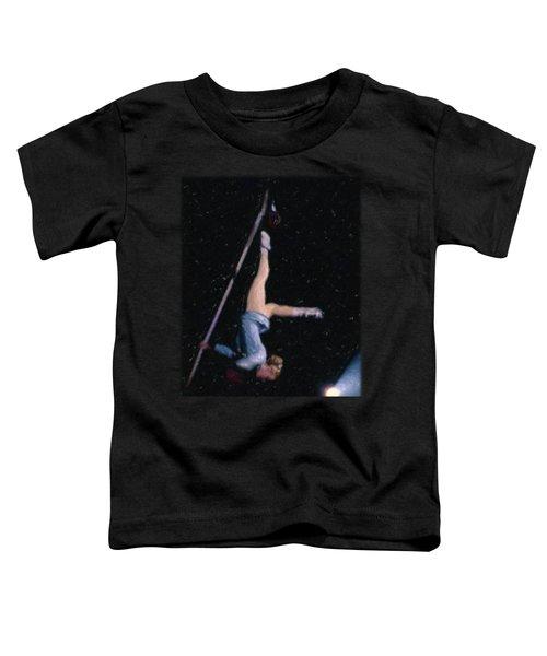 Aerial Acrobat Toddler T-Shirt by Jon Delorme