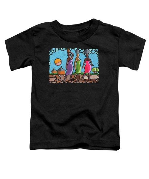 African Cat Walk Toddler T-Shirt