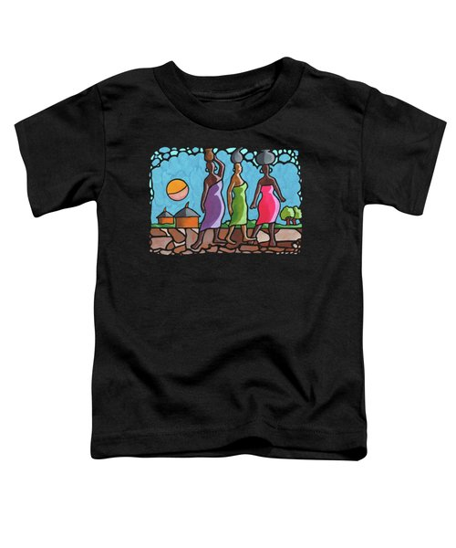 African Cat Walk Toddler T-Shirt