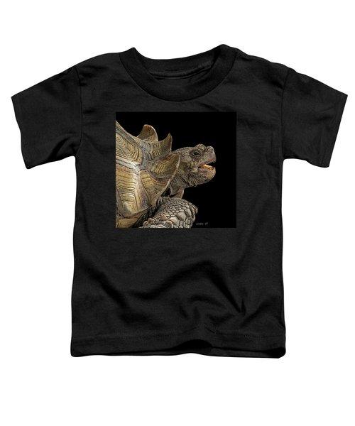 African Spurred Tortoise Toddler T-Shirt