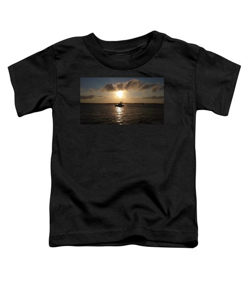 After A Long Day Of Fishing Toddler T-Shirt