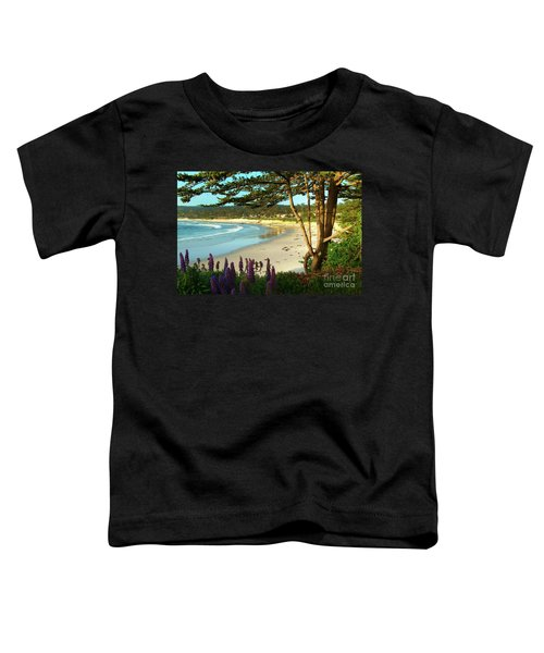 Afternoon On Carmel Beach Toddler T-Shirt