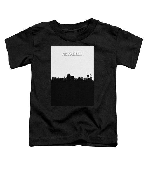 Albuquerque Cityscape Art Toddler T-Shirt