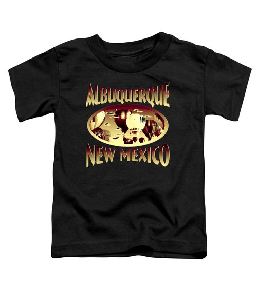 Albuquerque New Mexico Design Toddler T-Shirt