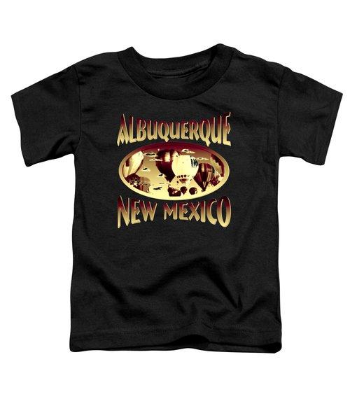 Albuquerque New Mexico Design Toddler T-Shirt