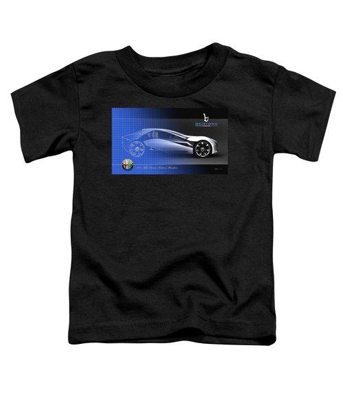 Alfa Romeo Bertone Pandion Concept Toddler T-Shirt