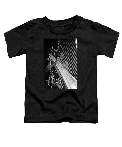 Alice Coltrane On Harp Toddler T-Shirt