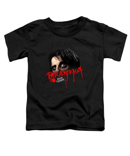 Alice Cooper Paranormal Face Toddler T-Shirt