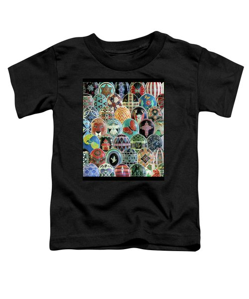 All Ostrich Eggs Collage Toddler T-Shirt