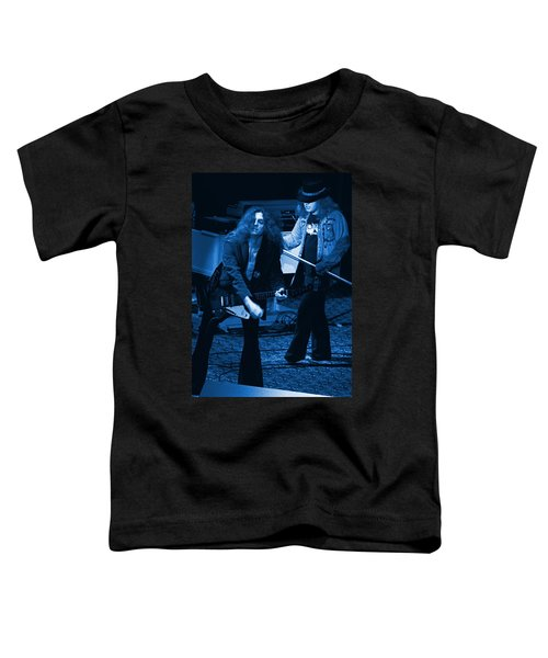 Allen Collins And Ronnie Van Zant Same Old Winterland Blues Toddler T-Shirt