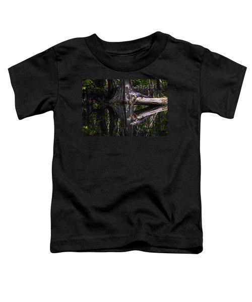 Alligators The Hunt, New Orleans, Louisiana Toddler T-Shirt