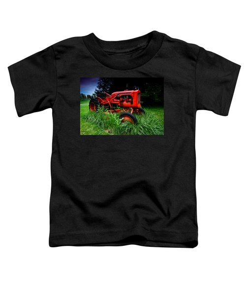 Allis Chalmers Tractor Toddler T-Shirt
