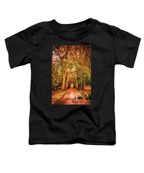 Alone Dog Toddler T-Shirt