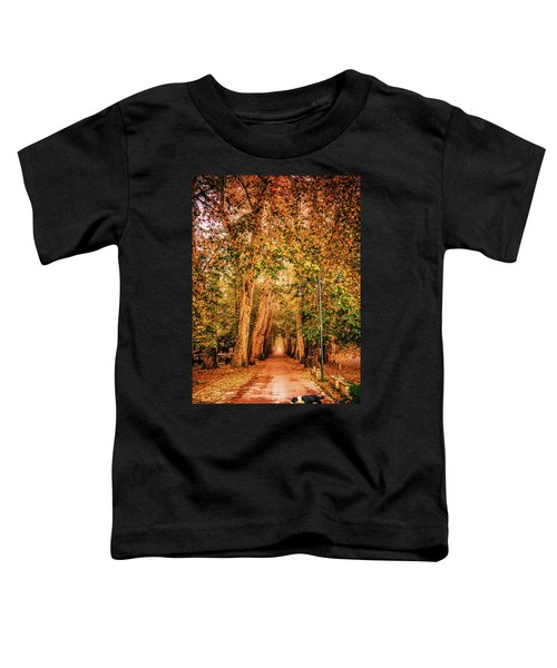 Alone Dog Toddler T-Shirt